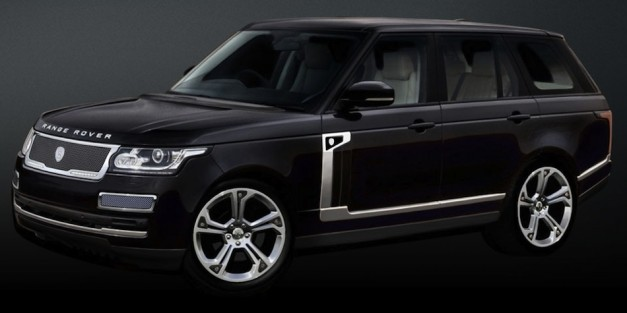 Strut offering styling package for the 2013 Range Rover