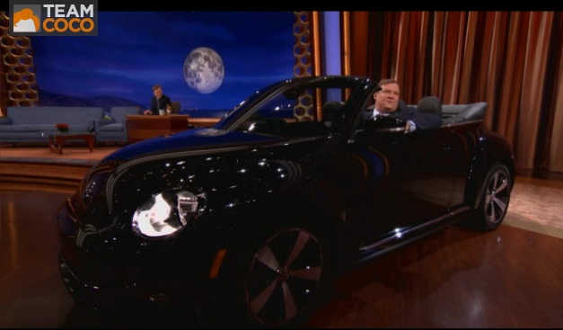 Video: Conan O'Brien wants to give you a Volkswagen Beetle Convertible