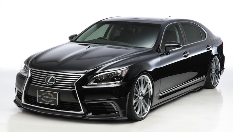 2013 Wald International Lexus LS Front Quarter View