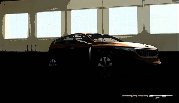 Kia teases Cross GT Concept, hints at full-size luxury crossover