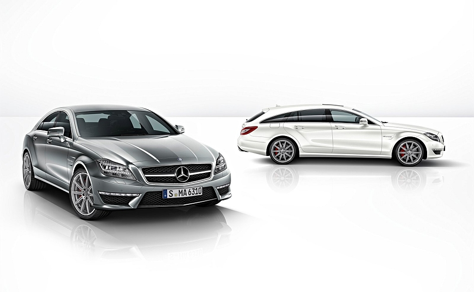 2013 Mercedes-Benz CLS63 AMG and Shooting Brake
