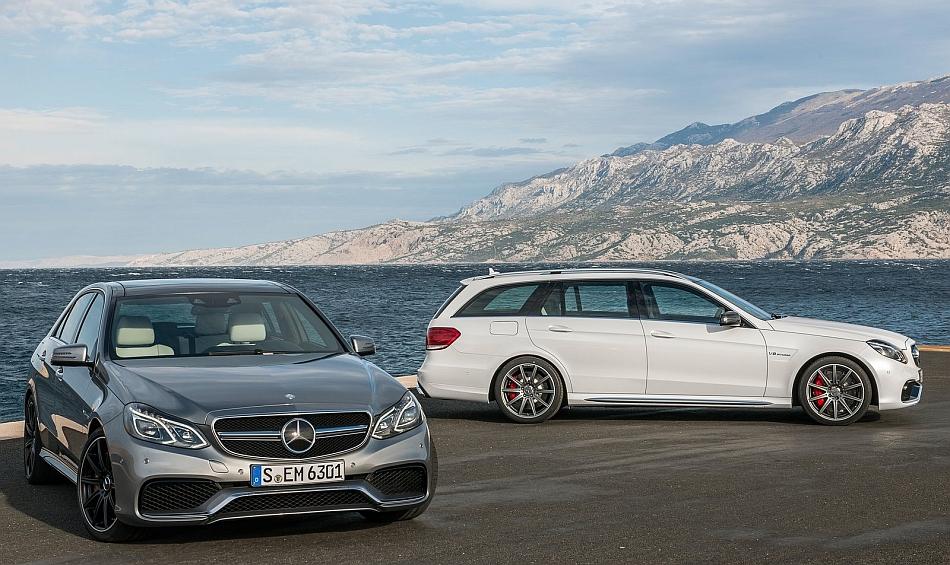 2013 Mercedes-Benz E63 AMG Sedan and Wagon