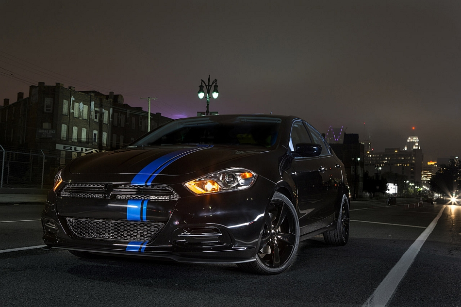 Chrysler Group LLC introduces limited-edition Mopar '13 Dart.