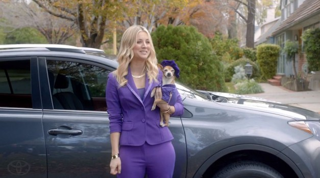 Video: Toyota features Kaley Cuoco and all-new RAV4 for Super Bowl 2013 ad spot