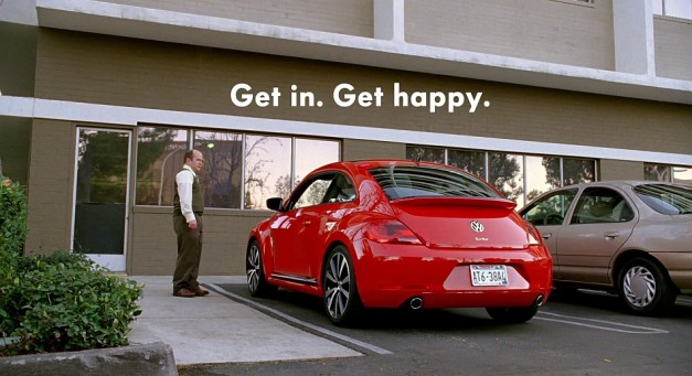 "Video: Volkswagen punts ""Get Happy"" TV ad into the public sphere for this year's Super Bowl XLVII"