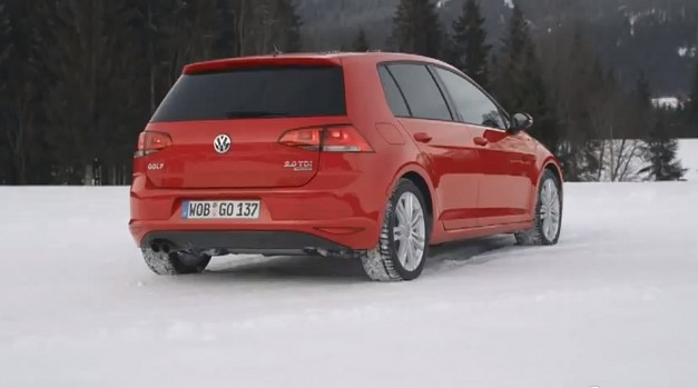 Video: Volkswagen teases 4MOTION MK7 Golf for EU