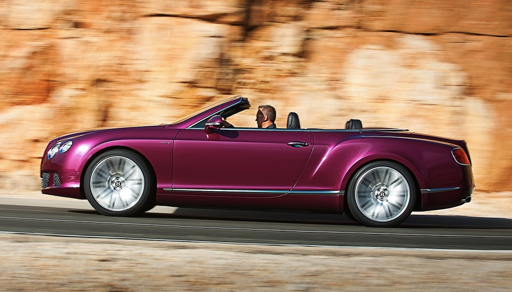 2014 bentley continental gt speed convertible side view egmcartech. Cars Review. Best American Auto & Cars Review