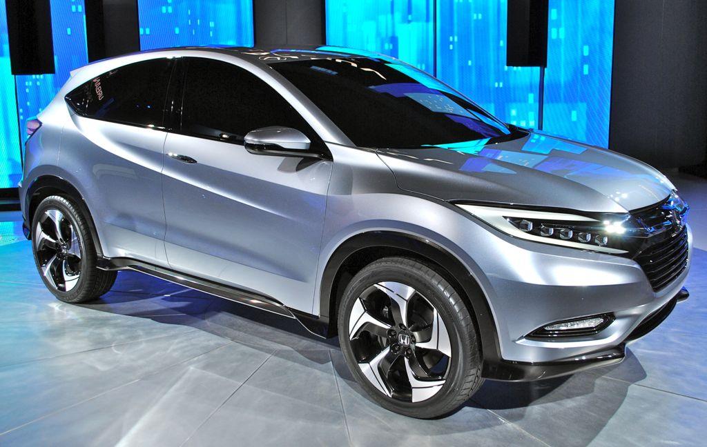 2013 Detroit: Honda Urban SUV Concept Front 7/8 View