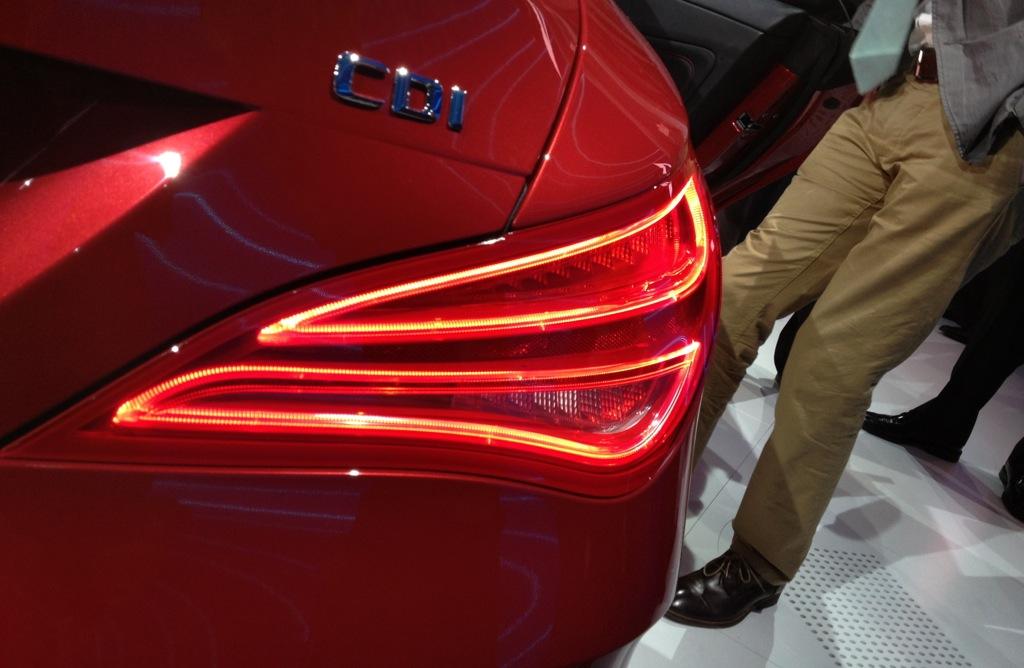 2013 detroit 2014 mercedes benz cla class tail light for Mercedes benz lights