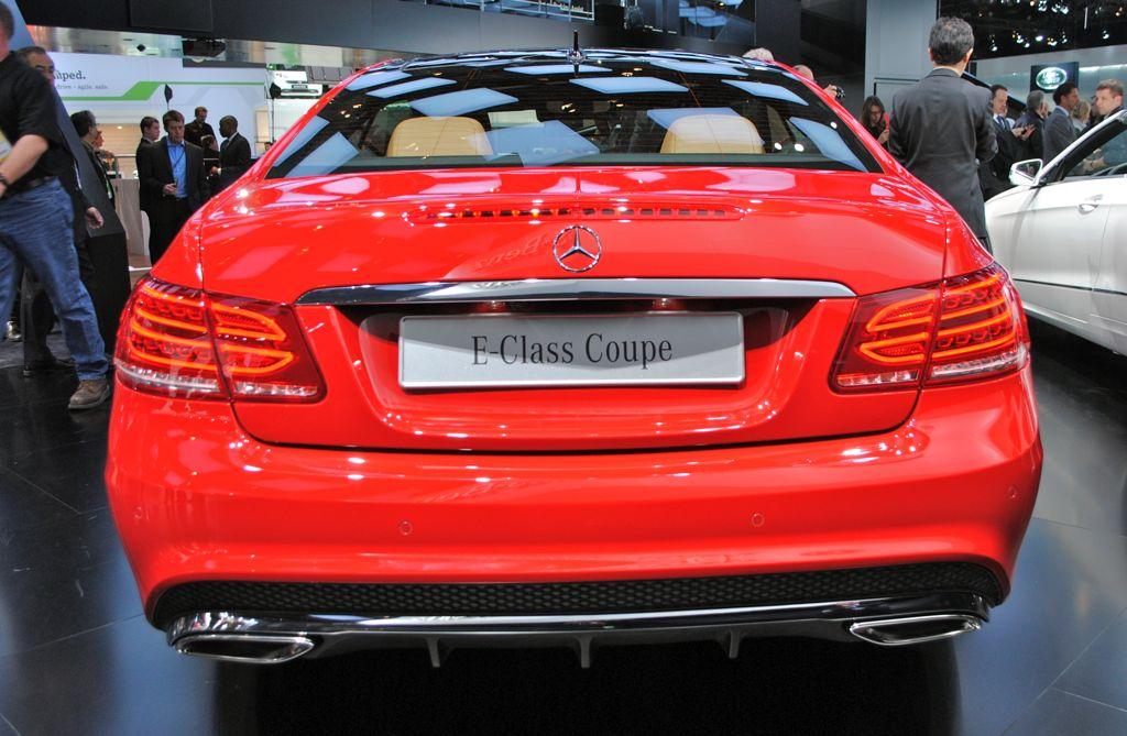 2013 E Class Coupe