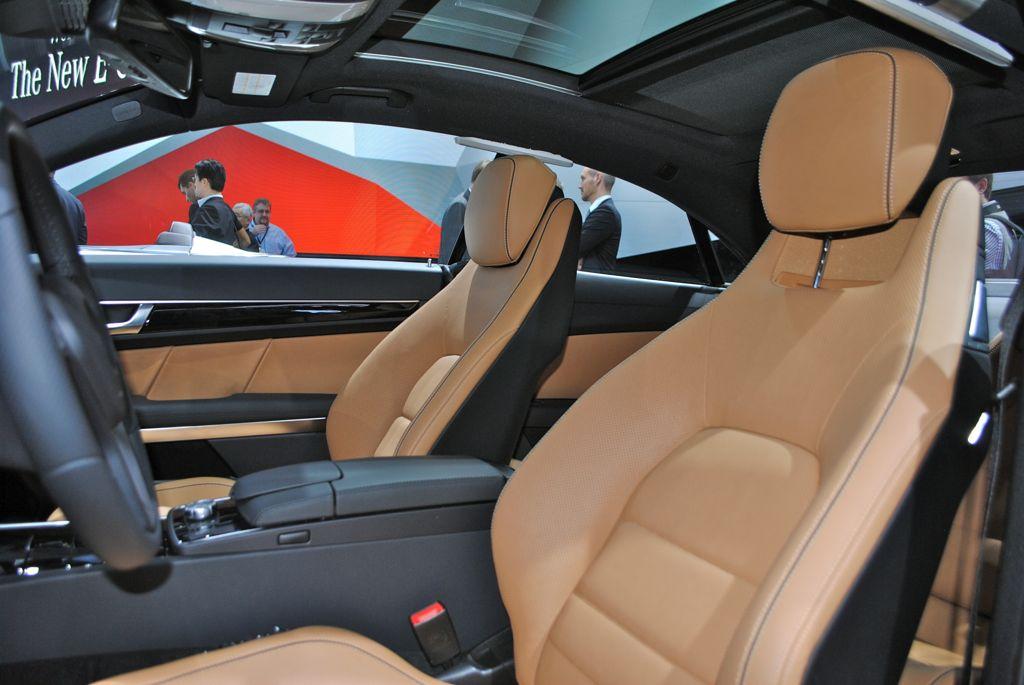 2013 Detroit 2014 MercedesBenz EClass Coupe Seats  egmCarTech