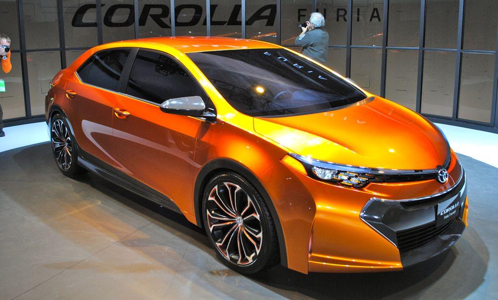 2013 Detroit: Toyota Corolla Furia Concept Main View