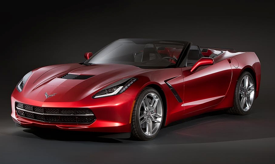 2014 Chevrolet Corvette C7 Convertible Leak