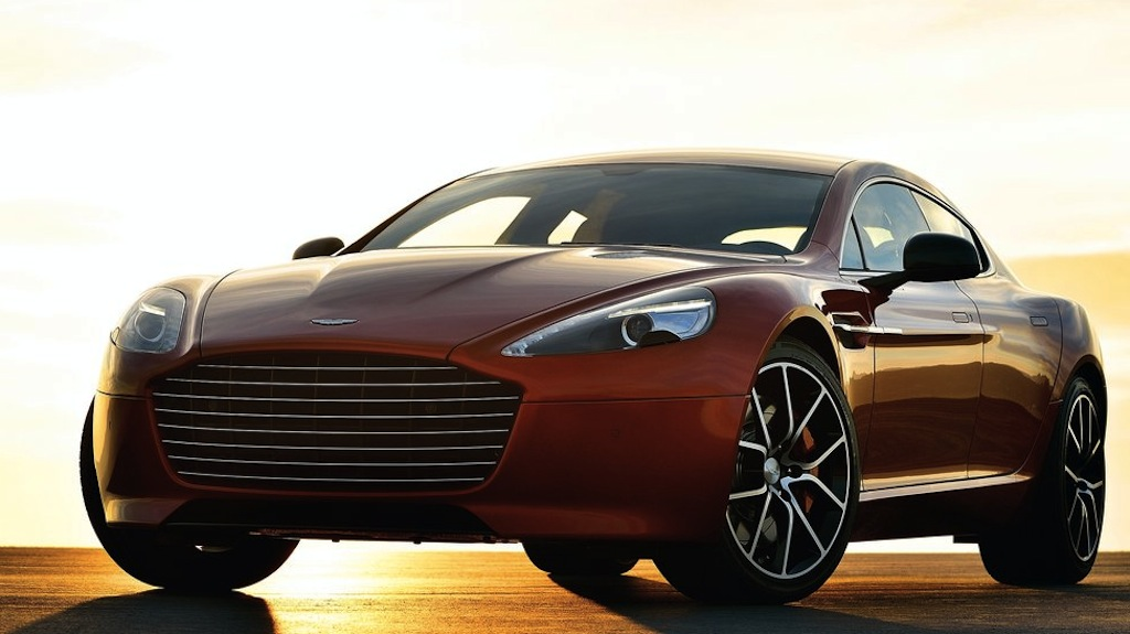 2014 Aston Martin Rapide S Front 3/4 View