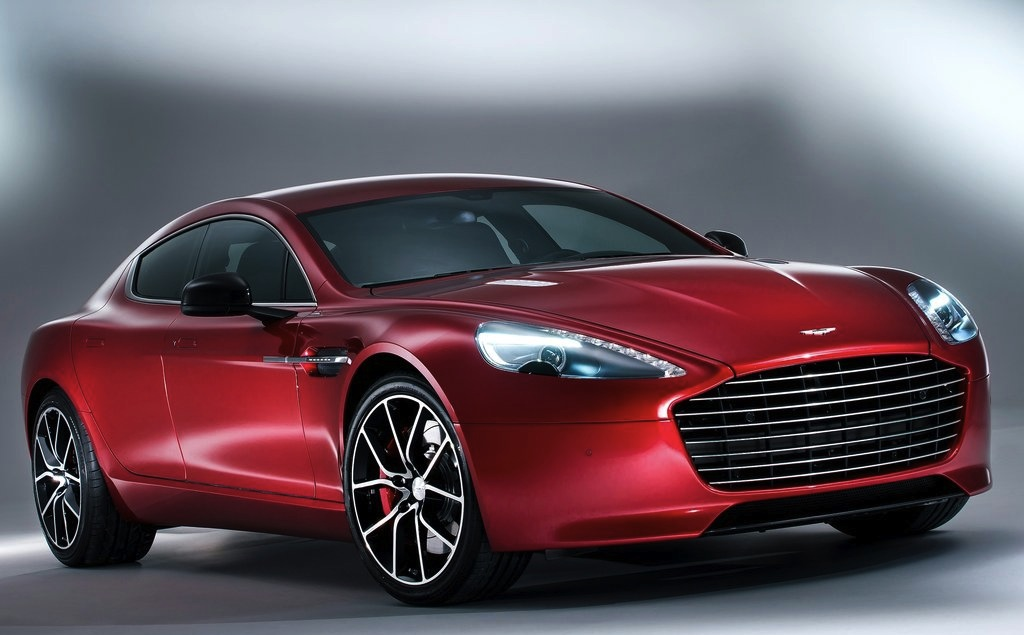 2014 Aston Martin Rapide S Front Quarter Studio