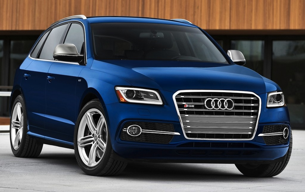 2014 Audi SQ5 Front 3/4 View