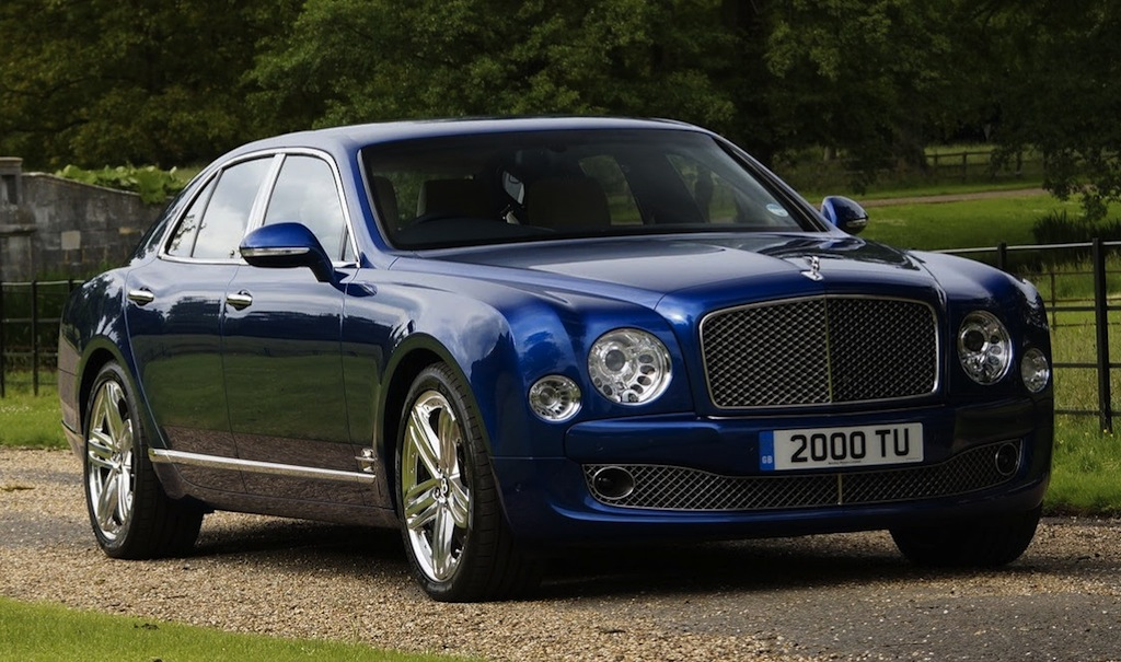2014 Bentley Mulsanne Front 3/4 Angle