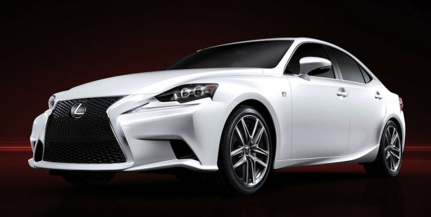2014lexusisofficial 09 627x317 2014 Lexus IS photos officially hit the web before Detroit debut