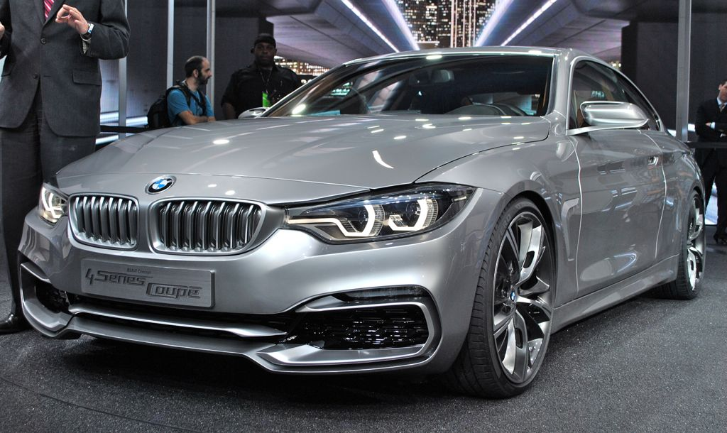 2013 Detroit: BMW 4 Series Coupe Main