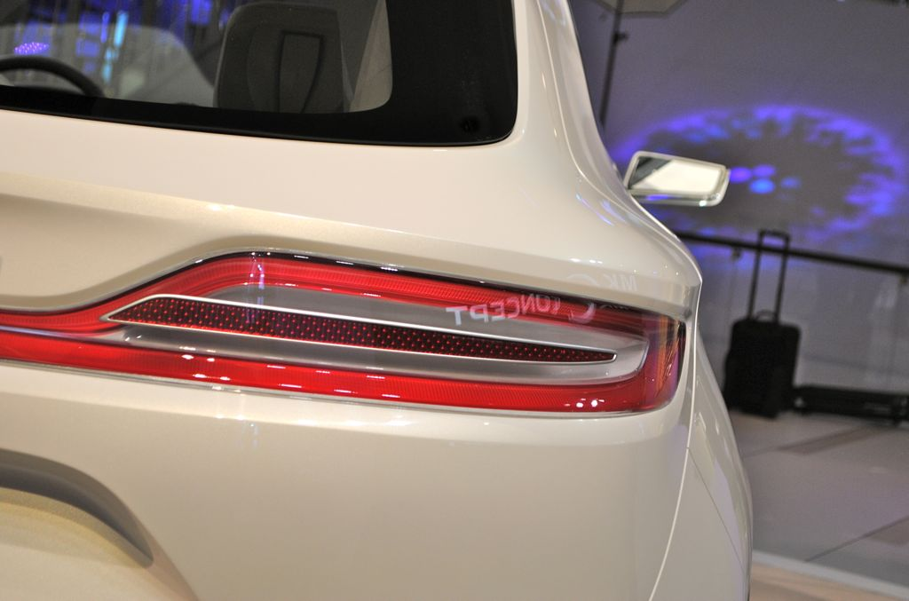 2013 Detroit Lincoln Mkc Concept Tail Light Egmcartech