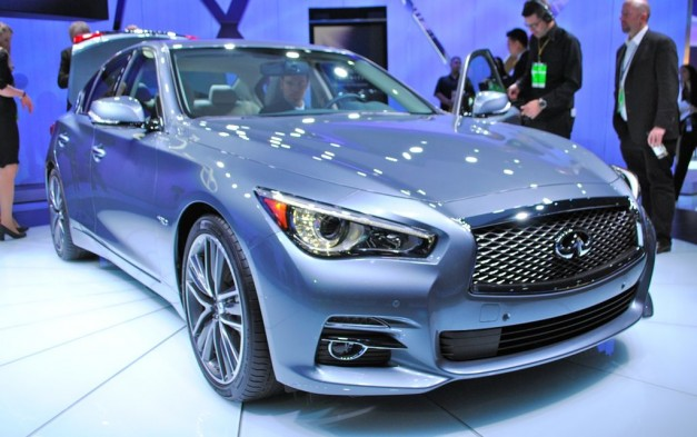 2013 Detroit: 2014 Infiniti Q50 makes its world debut, goes on sale this summer