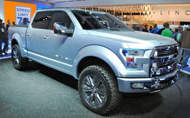 Ford Atlas Concept hints at next-generation F-150 pickups - egmCarTech