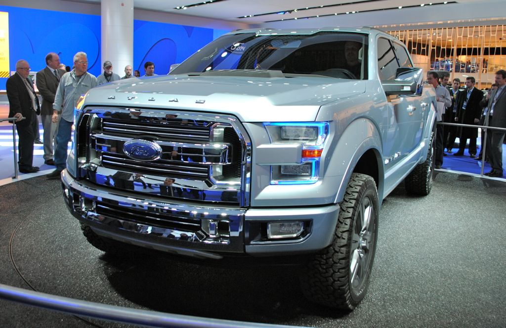 2013 Detroit: Ford Atlas Concept Front 3/4 View