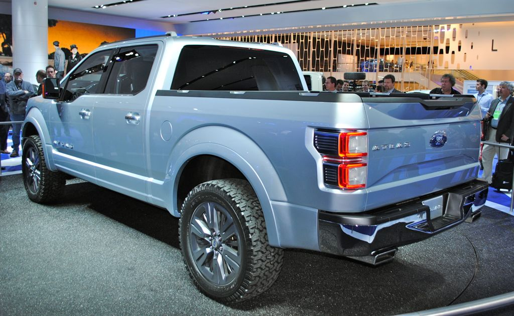 ford atlas concept hints at 2015 f 150 detroit 2013 kelley. Cars Review. Best American Auto & Cars Review