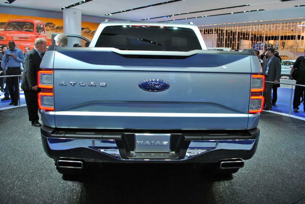 2013 Detroit: Ford Atlas Concept Rear View - egmCarTech ...