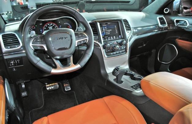 2014 Jeep Grand Cherokee SRT8 Interior egmCarTech