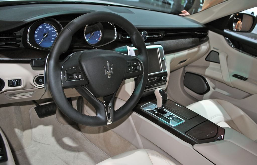 2013 Detroit 2014 Maserati Maserati Quattroporte 2013 Interior