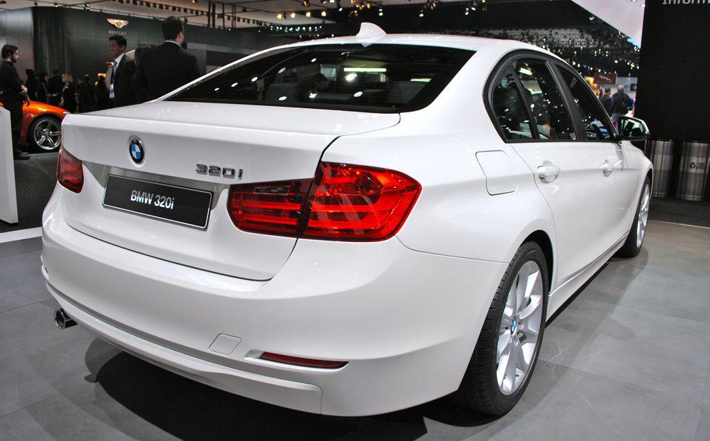 Detroit BMW I Rear View EgmCarTech - Bmw 320i 2013 price