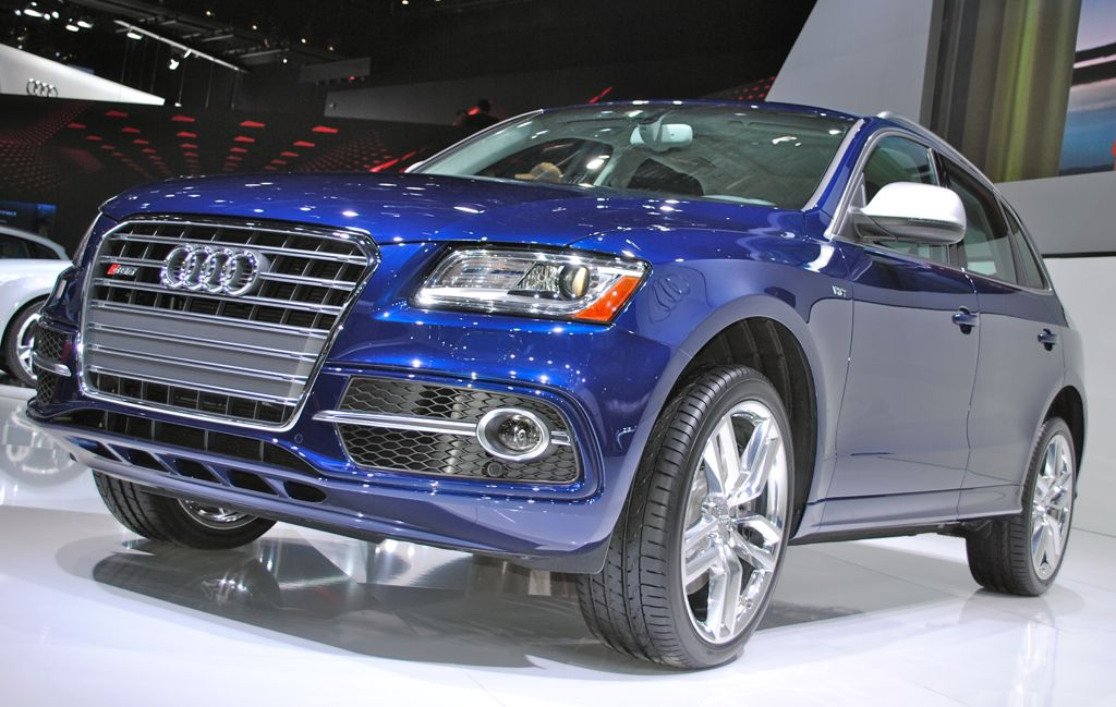 2013 Detroit: 2014 Audi SQ5 Main