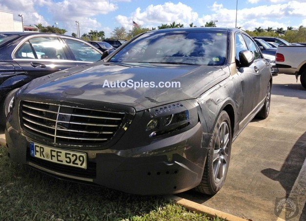 Spy Shots: Mercedes-Benz S-Class gets caught in spy shots