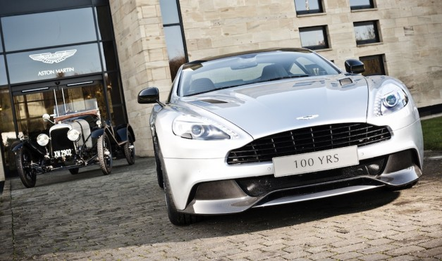 Aston Martin Centenary Edition Vanquish celebrates brand's 100th anniversary