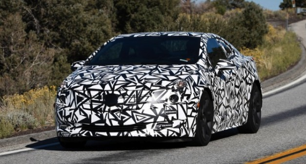 Cadillac ELR official spy shot released before Detroit debut