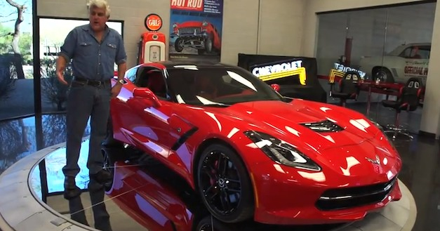 2014 Chevrolet Corvette Stingray stops by Jay Leno&#8217;s Garage