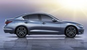 Infiniti Q50 Leak Side View