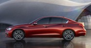 Infiniti Q50 Leak Side Red