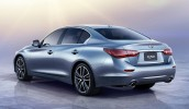 Infiniti Q50 Leak Rear 3/4 View