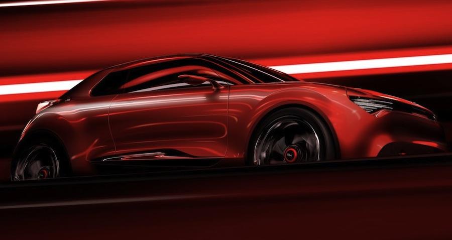 Kia Geneva Concept Front Side Teaser