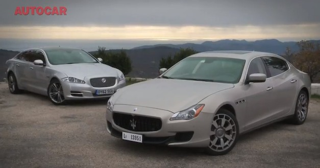 Video: AutoCar drives 2014 Maserati Quattroporte, compares it to Jaguar XJ