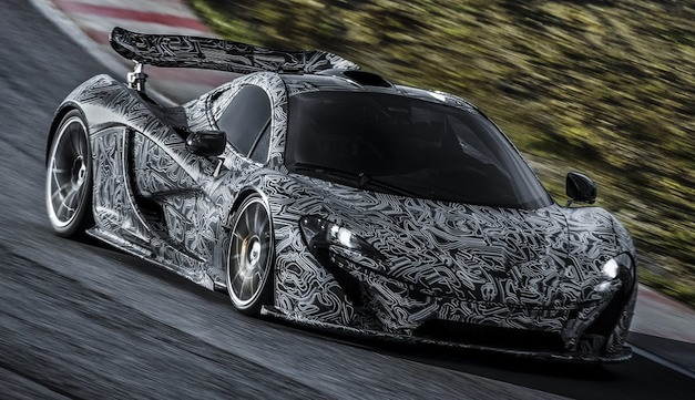 Video: McLaren P1 to debut in Geneva, company releases new track footage