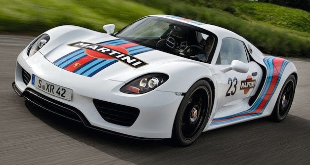 2014 Porsche 918 Spyder price starts at $845,000