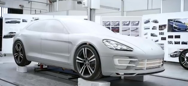 Video: The design process behind the Porsche Panamera Sport Turismo