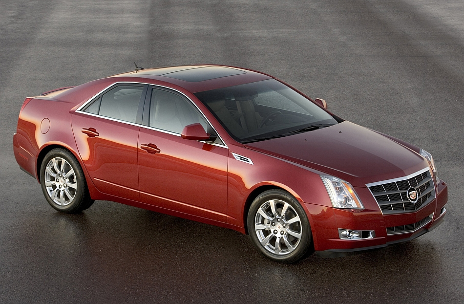 2012 Cadillac Cts 3 4 Right Front High Angle Egmcartech