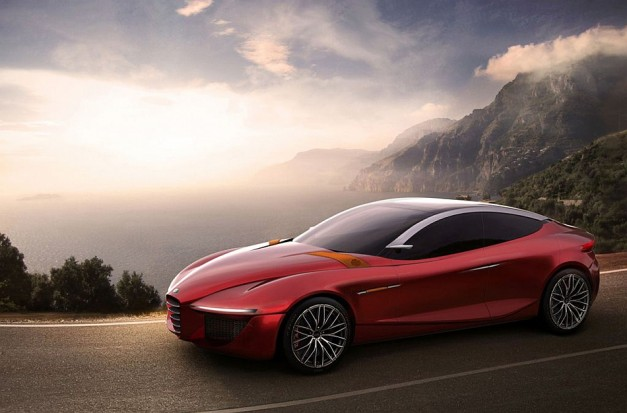 Alfa Romeo and European Design Institute team up to create the Gloria Concept