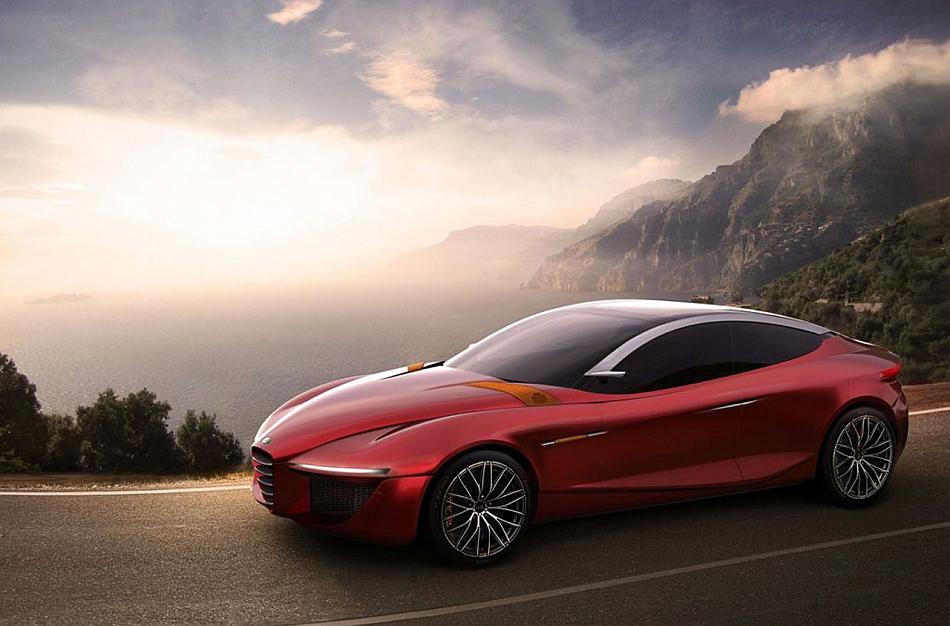 2013 Alfa Romeo & IED Gloria Concept