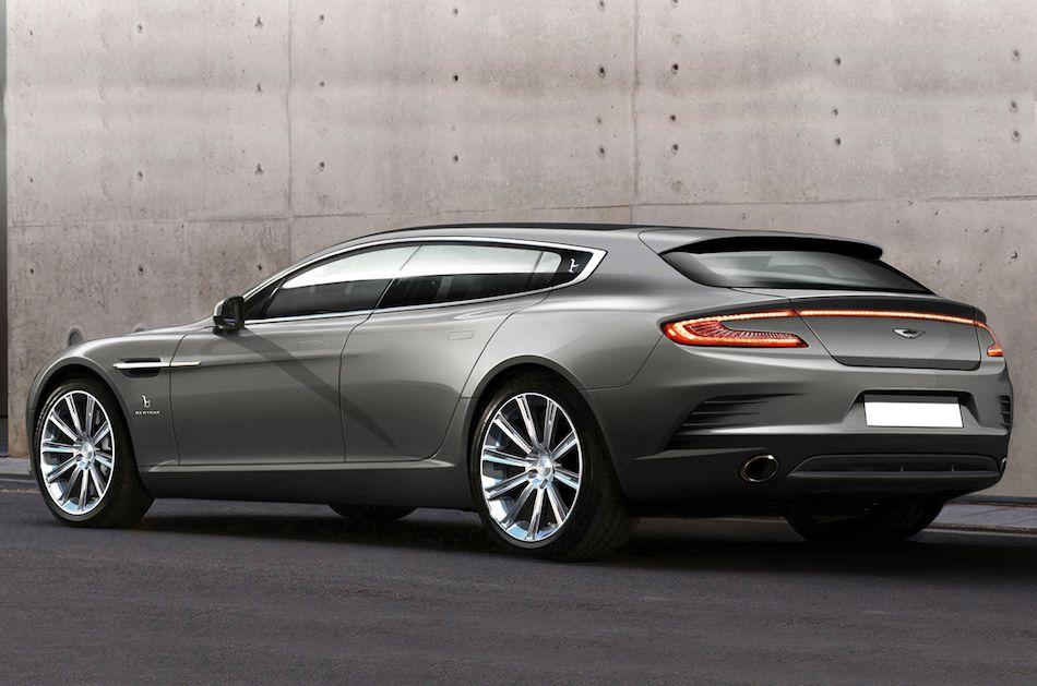 2013 Aston Martin Bertone Jet 2+2 Concept Rear 3:4 Left