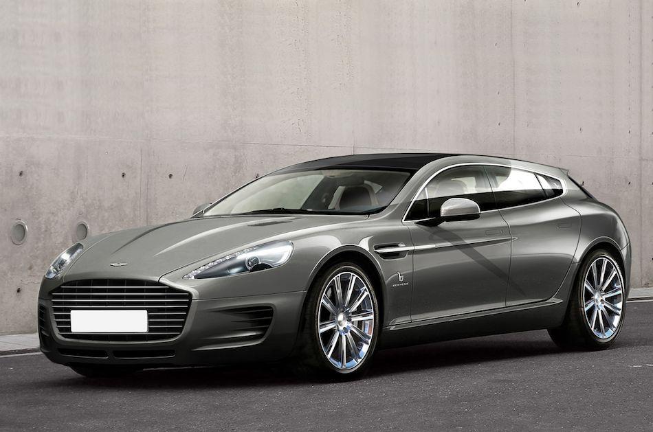2013 Aston Martin Bertone Jet 2+2 Concept